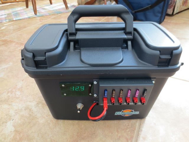 Used Car Batteries >> Homebrew Portable Power Pack - KC9QQ